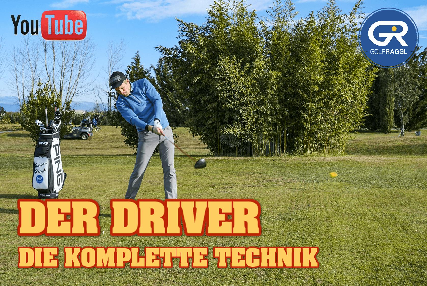 Der Golfschwung mit dem Driver - die komplette Technik