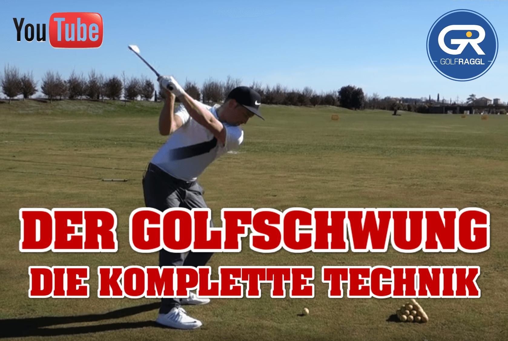 Der Golfschwung - die komplette Technik